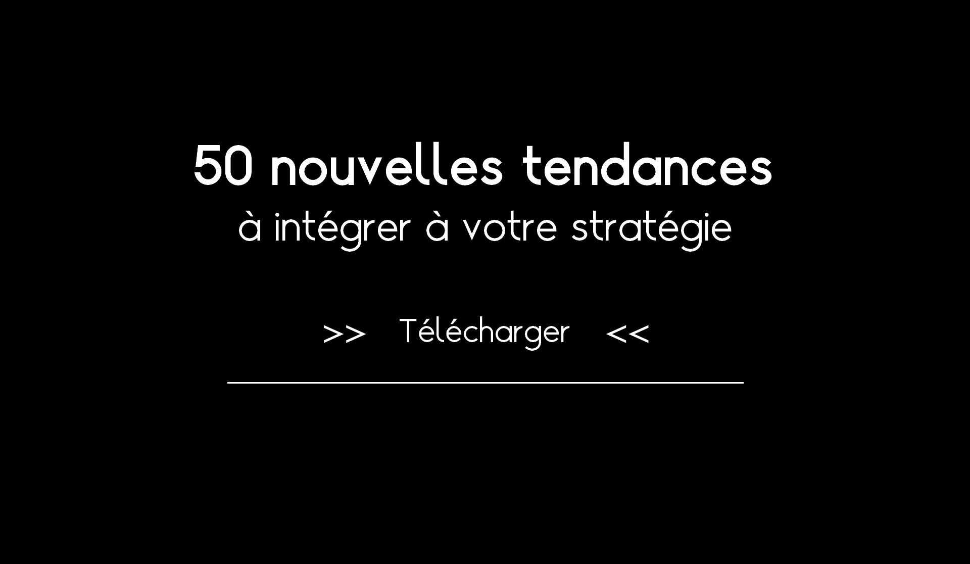 Ebook 50 nouvelles tendances